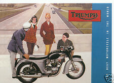 Robert Opie Advertising Postcard - Vintage Motorbikes - Triumph    BT715