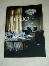 RARE 2013 LALIQUE Catalog 26 pages Colorful Pictures New Collection + Price List