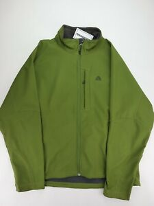 Nike ACG Green Full Zip Up Fleece Insulated Zipped Chest Pocket Jacket Mens XL