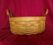 Longaberger Darning Basket w/divided protector