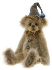 """Pinto Mohair Teddy Bear by Charlie Bears - 12"""" SJ5937A"""