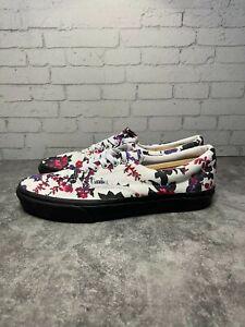 Vans Womens Floral Multicolor Lace Up 721454 Skate Athletic Shoes Size 11