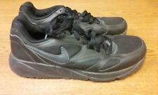 Nike Air Force 1 Basketball Black Low Sneakers Youth Size 6Y