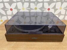 Vintage 1973 Pioneer PL-12D Belt Drive Turntable Record Player Shure Cartridge