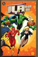 GN/TPB JLA Year One Collected Edition nm- 9.2 1st edition 1999 Mark Waid
