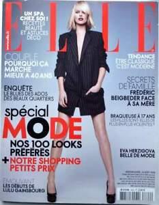 Francese Essa 2009 Special Moda _ Eva Herzigova_Madonna_ Marc Lavoine