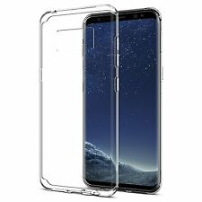 Coque Housse Etui Silicone gel Transparente Souple Samsung Galaxy S8 ultra thin