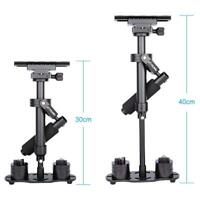 "15.8 "" Aluminum Alloy Camera Handheld Stabilizer for DSLR DV Camera Up to 1.5KG"