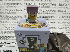 MINECRAFT Mini-Figure ICE Series 5 STEVE w/MISMATCHED ARMOR Exclusive to 1-Packs