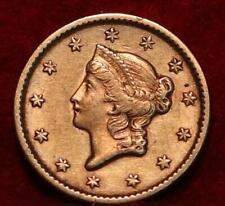 1851 Philadelphia Mint Gold $1
