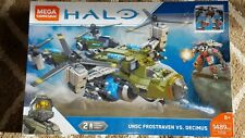 NEW Mega Construx / Bloks Halo UNSC Frostraven Vs. Decimus 1489pcs 8+