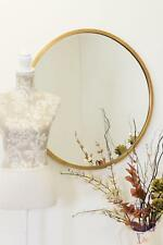 Large Gold Circular Bevelled Wall Mirror2ft7 X 2ft7