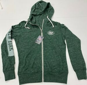 NWT Women's Nike New York Jets Hoodie Hooded full zip Sweatshirt S M L XL XXL