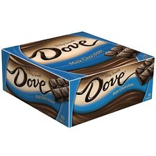 DOVE Milk Chocolate Singles Size Candy Bar, 1.44-Ounce Bar 18-Count Box