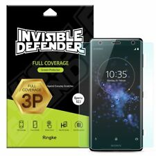 For Sony Xperia XZ2 | Ringke [Full Coverage] Screen Protector [3 Pack] Thin Film