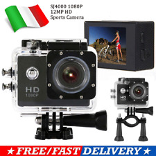 SJ4000 SPORT ACTION PRO CAM CAMERA HD DV 720P WATERPROOF VIDEOCAMERA SUBACQUEA L
