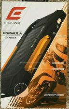 Element Case Formula Edition iPhone X/Xs - Orange/Black - Aluminum/Carbon Fiber