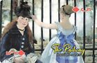 Famous Painting by Edouard Manet The Railway Single Playing Card