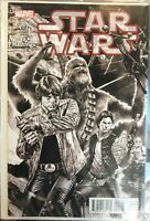 Star Wars #1 Marvel 2015 Hastings Exclusive Mico Suayan Variant Cover
