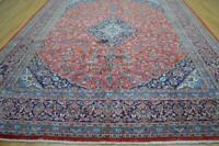 9'10 x 12'8 Genuine S Antique Hand Knotted Wool Area Rug 10 x 13 Oriental Carpet