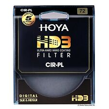Hoya 72mm HD3 16-Layers Coating Circular Polarizer Filter. U.S Authorized Dealer