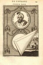 MEHMED IV. Sultan of the Ottoman Empire. Turkey. Mehmet Mehemet. MALLET 1683