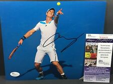 ANDY MURRAY SIGNED AUTO 8X10 PHOTO TENNIS ATP WIMBLEDON FRENCH OPEN US JSA