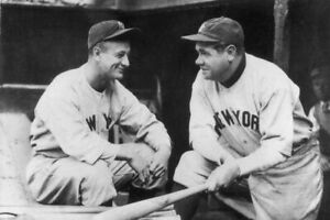 New York Yankees: Babe Ruth/ Lou Gehrig  24x36 inch Poster