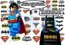 Batman vs Superman Decals | Waterslide Decals for all model scales up to 1:18