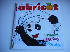 ABRICOT - COUCOU C'est moi petit-panda ! N°285 FEVRIER 2013