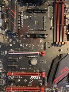Msi X470 Gaming Plus, Amd Ryzen 2700x 3.7 Boost To 4.6, 8gb Ddr4!.