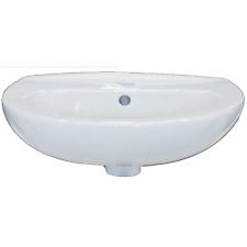Lavabo Lavandino lavamani Sospeso bagno  serie eco cm. 45 ceramica bianco