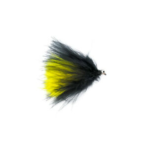 Cats Whisker Black And Yellow Barbless X3 Size 10 - Dragonflies