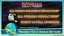 [iOS/Android] Futurama: Worlds of Tomorrow Premium Item & Character Pack!
