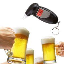 Digital Alcohol Breath Tester Keychain Breathalizer LCD Display Portable New