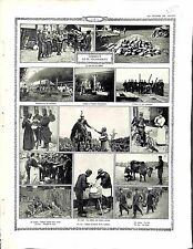 Nourritures Pains Poilus Soldats Boulangerie Campagne Cuisine Hôpital 1914 WWI