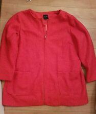 X Two red Dazy Blazer Cardigan Wickeljacke Jacke Damen Lagenlook Plusgröße
