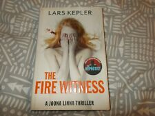 The Fire Witness by Lars Kepler (Hardback, 2013) SIGNED BY LARS KEPLER