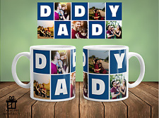 Personalised Photo Fathers Day Mug Dad Christmas Gift - Coffee Cup - Daddy