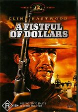 A FISTFUL OF DOLLARS (Sergio Leone) - Clint Eastwood Marianne Koch DVD Region 4