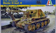 Sd. Kfz. 138 Panzerjager Marder III Ausf. H Tank Plastic Kit 1:72 Model 7060