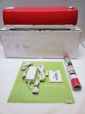 Candy Red Cricut Explore Air 2 Smart Cut Machine New PREMIUM Blade, Vinyl, Mat