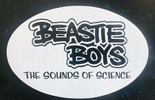 Beastie Boys Promo Sticker1999 Anthology: Sounds of Science Huge 5�X7�Rare Mint
