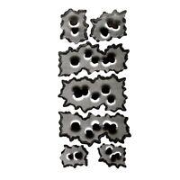 """1X(2 tipi """"32 proiettile buco"""" per auto motocicletta sticker adesivi decal U2X3)"""
