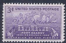 U S Stamp 1948 Fort Kearny Nebraska 100 Anniversary 3 Cent Stamp MNH