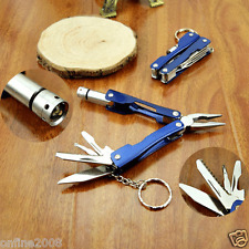 Multifunction Pliers With Knife LED Flashlight Outdoor Camping Tool Kit Pliers