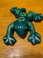 Frog Figurine Ceramic Wall Art Mexico Pottery