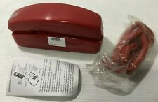 Classic Trim Style Corded Red Telephones Sealed w/ Free Shipping