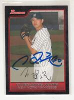 CHIEN-MING WANG 2006 Bowman #116 Yankees Taiwan TTM / IP Autographed Signed