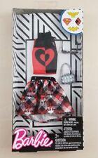 New Barbie DC Comics Harley Quinn Fashion Pack Batman Skirt Shirt Fashionistas